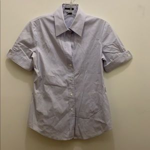 Theory short sleeve button down